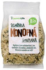 Country Life Bio Konopné semienko lúpané 100 g
