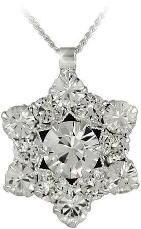 MHM Náhrdelník Riana Crystal 31202 (řetízek, přívěsek) stříbro 925/1000