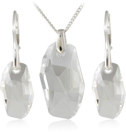 MHM Meteor Crystalékszer szett 34183 ezüst 925/1000