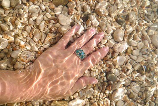 Troli Prsten Bubble Crystal