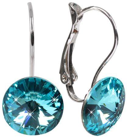 Troli Náušnice Rivoli 12 mm Light Turquoise