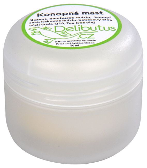 Delibutus Konopná mast 50 ml