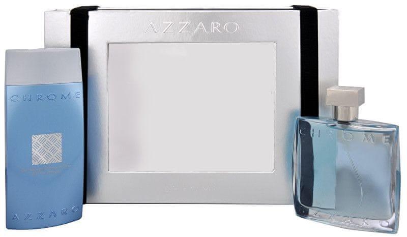 Azzaro Chrome - EDT 100 ml + sprchový gel 200 ml pro muže