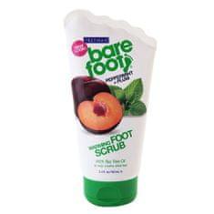 Freeman Samozahřívací peeling na nohy s mátou a švestkou (Warming Foot Scrub Peppermint + Plum) 100 ml