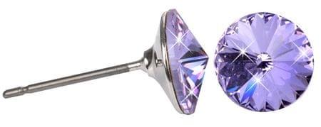 Troli Kolczyki Rivoli 8 mm Violet