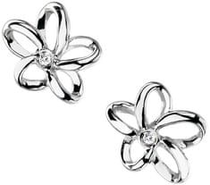 Hot Diamonds Náušnice Paradise Open Petal Stud DE248 stříbro 925/1000