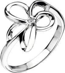 Hot Diamonds Prsten Paradise Open Petal DR092 stříbro 925/1000
