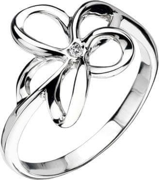 Hot Diamonds Pierścień Paradise Otwarte Płatek DR092 (obwód 56 mm) srebro 925/1000