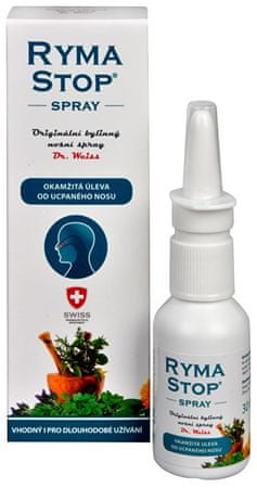 Simply you RymaStop Dr. Weiss bylinný nosný spray 30 ml
