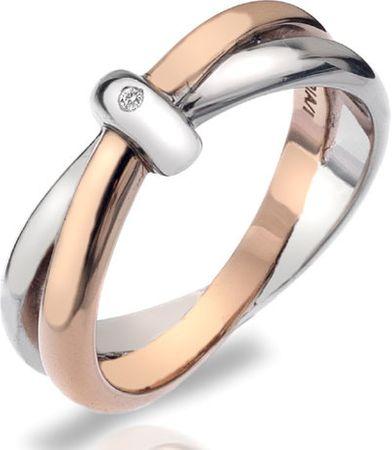 Hot Diamonds Wieczność Pierścień blokujące DR112 (obwód 58 mm) srebro 925/1000