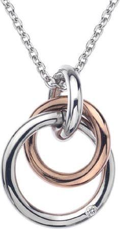 Hot Diamonds Wieczność naszyjnik blokujące DP373 srebro 925/1000
