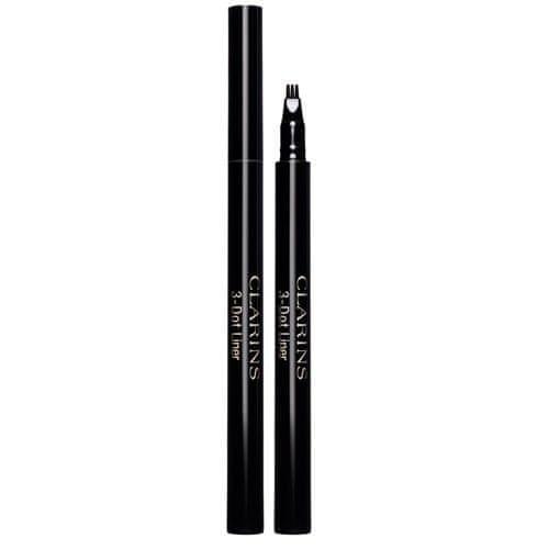 Clarins Oční linky 3-Dot Liner (Easy Lining Eyeliner) 0,7 ml (Odstín 01 Black)