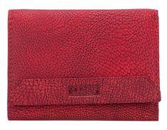 Lagen Nő piros bőr pénztárca Red LG-10 / W-3