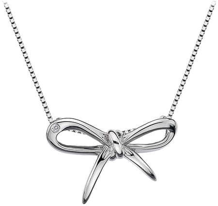 Hot Diamonds Rozkwitać srebrny naszyjnik DP471 srebro 925/1000