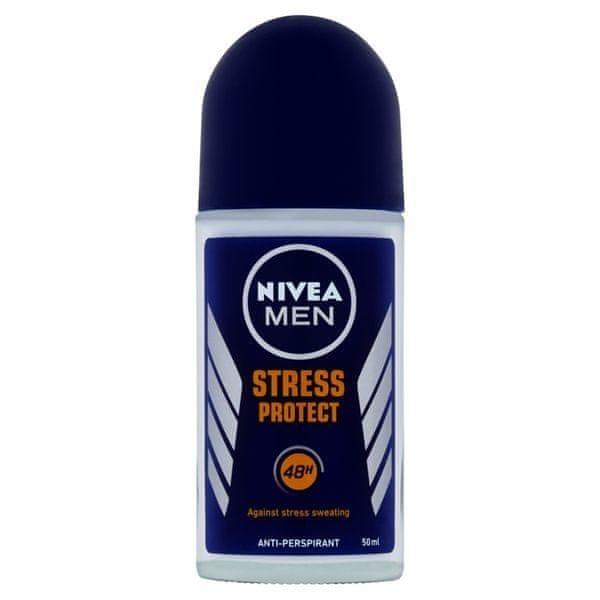 Nivea Kuličkový antiperspirant pro muže Stress Protect Men 50 ml
