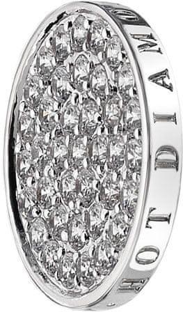 Hot Diamonds Wisiorek Emozioni Ice Sparkle Coin-EC049 EC011 (średnica 33 mm) srebro 925/1000