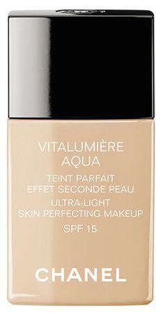 Chanel Rozjasňujúci hydratačný make-up Vitalumiere Aqua SPF 15 (Ultra-Light Skin Perfecting Sunscreen Makeu