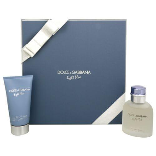 Dolce & Gabbana Light Blue Pour Homme - EDT 75 ml + balzám po holení 75 ml