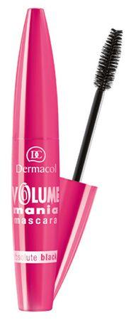 Dermacol Řasenka pro velkolepý objem řas Volume Mania Mascara 10 ml (Odstín black )