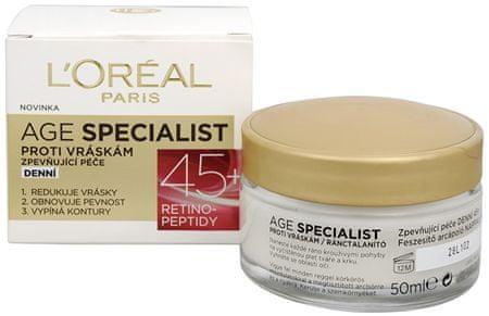 L'Oréal Dzienny krem przeciwzmarszczkowy Specialist Wiek 45+ 50 ml