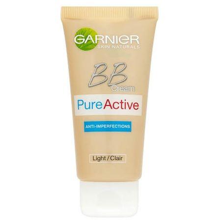 Garnier BB krem na niedoskonałości w jednym PureActive 5 SPF 15 50 ml (cień light)