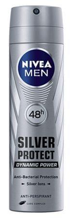 Nivea Antyperspirant spray dla mężczyzn Srebro Protect Dynamic Power 150 ml