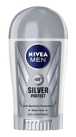 Nivea Solidna antyperspirant dla mężczyzn Srebro Protect Dynamic Power 40 ml