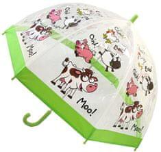 Blooming Brollies Dětský průhledný holový deštník Buggz Kids Stuff Farm BUFARM