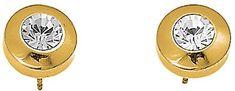Oliver Weber Náušnice Diamond Gold 8401G