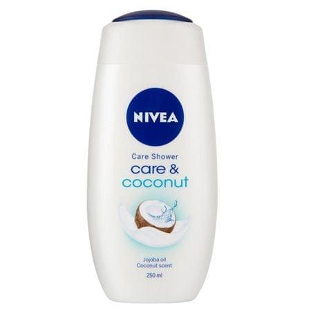 Nivea Żel pod prysznic krem do pielęgnacji i kokosowe 250 ml