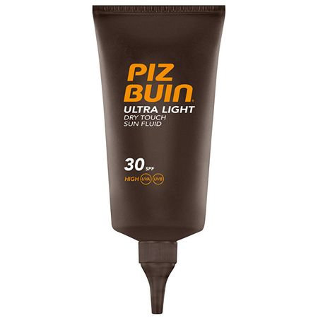 PizBuin Ultra ľahký nemastný fluid na opaľovanie Ultra Light SPF 30 (Dry Touch Sun Fluid) 150 ml
