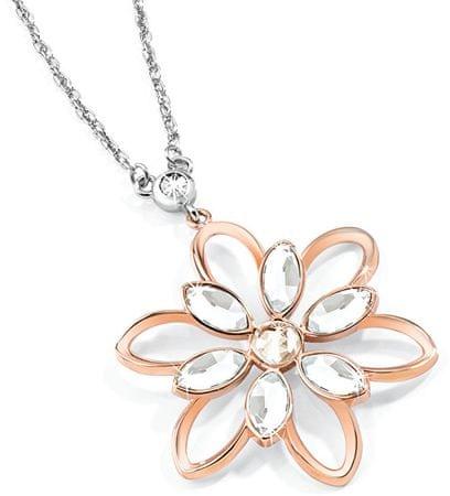 Morellato Oceľový bicolor náhrdelník Fioremio SABK26