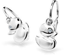 Cutie Jewellery Dětské náušnice C1954-10-10-X-2 zlato bílé 585/1000
