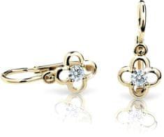 Cutie Jewellery Dětské náušnice C1944-10-X-1 zlato žluté 585/1000