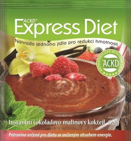 Good Nature Express Diet - instantní čokoládovo-malinový koktejl 60 g