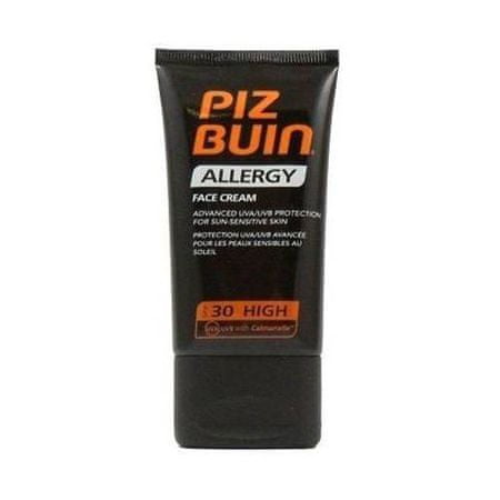 PizBuin Fényvédő SPF 30 az arcon (Face Allergy Care) 50 ml