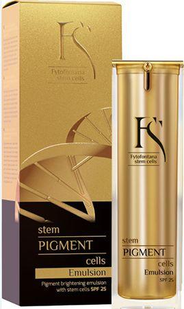 Fytofontana Stem Cel Pigment Emulsja - Emulsja macierzystych rozjaśniania pigmentacji SPF 25 30 ml