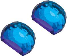 Preciosa Náušnice Miltonia Bermuda Blue 6249 46 stříbro 925/1000