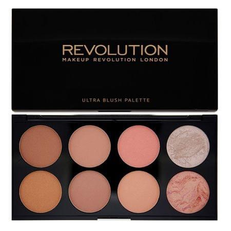 Makeup Revolution Paletka tváreniek ( Ultra Blush and Contour) (Odtieň Sugar & Spice)