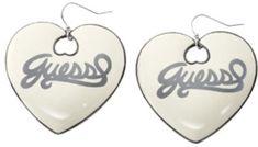 Guess Náušnice srdce UBE21001