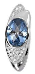 Silver Cat Ezüst medál kristályokkal SC056 ezüst 925/1000