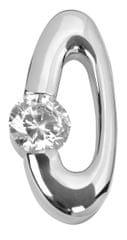 Silver Cat Ezüst medál kristályokkal SC008 ezüst 925/1000
