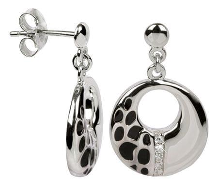 Silver Cat Srebra kolczyków z kryształami SC012 srebro 925/1000
