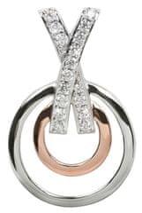 Silver Cat Ezüst medál kristályokkal SC026 ezüst 925/1000
