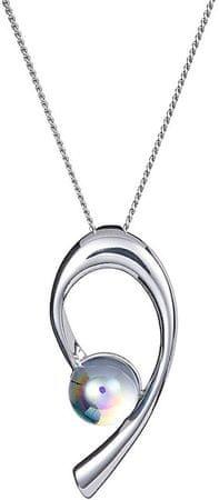 Preciosa Náhrdelník Crystal Dew Crystal AB 6812 42 (retiazka, prívesok) striebro 925/1000