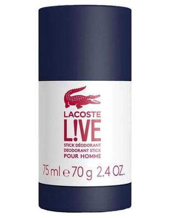 Lacoste LIVE - dezodorant w sztyfcie 75 ml