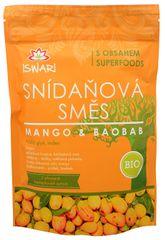 Iswari BIO Snídaňová směs Mango-Baobab (Objem 3,2 kg)