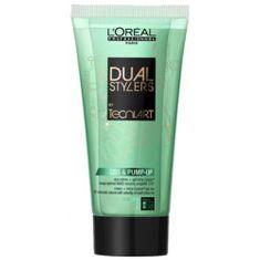 Loreal Professionnel Dvousložkový gel krém pro objem vlasů (Dual Stylers Liss & Pump Up Duo Creame + Gel) 150 ml