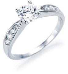 Brilio Silver Stříbrný zásnubní prsten 5177855 stříbro 925/1000