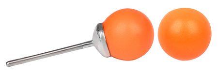 Troli Kolczyki Pearl Neon Orange